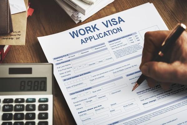 professional visas in Belgium